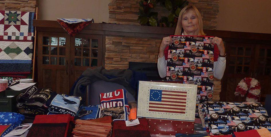 Lap Robes for Veterans