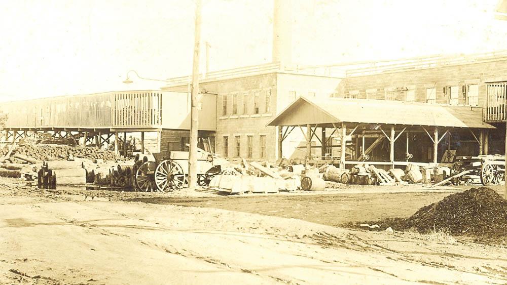 Webster Basket Company, courtesy of the Webster Museum
